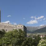Südtirol, Vinschgau, oberes Vinschgau, Mals, Burgeis, Fürstenburg,