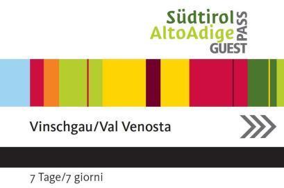 Vinschgau Card Guest Card