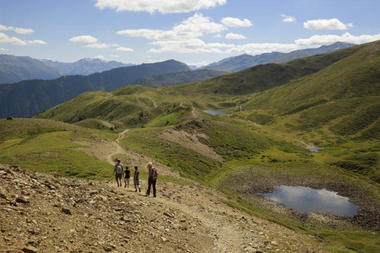 Wandern, oberhalb des Pfaffensee