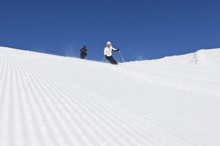 Schifahren am Watles